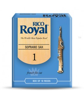 Anches saxophone soprano RICO Royal 1