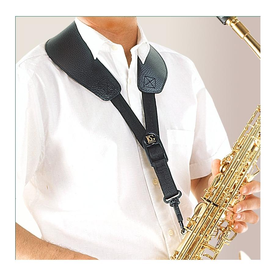Cordon saxophone BG YOKE S50SH avec bretelles